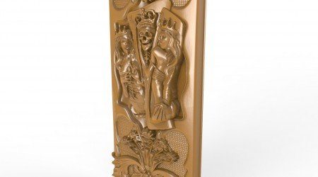 Worktop table Engraver Carving Machine Relief Artcam 3d STL Model for CNC A133