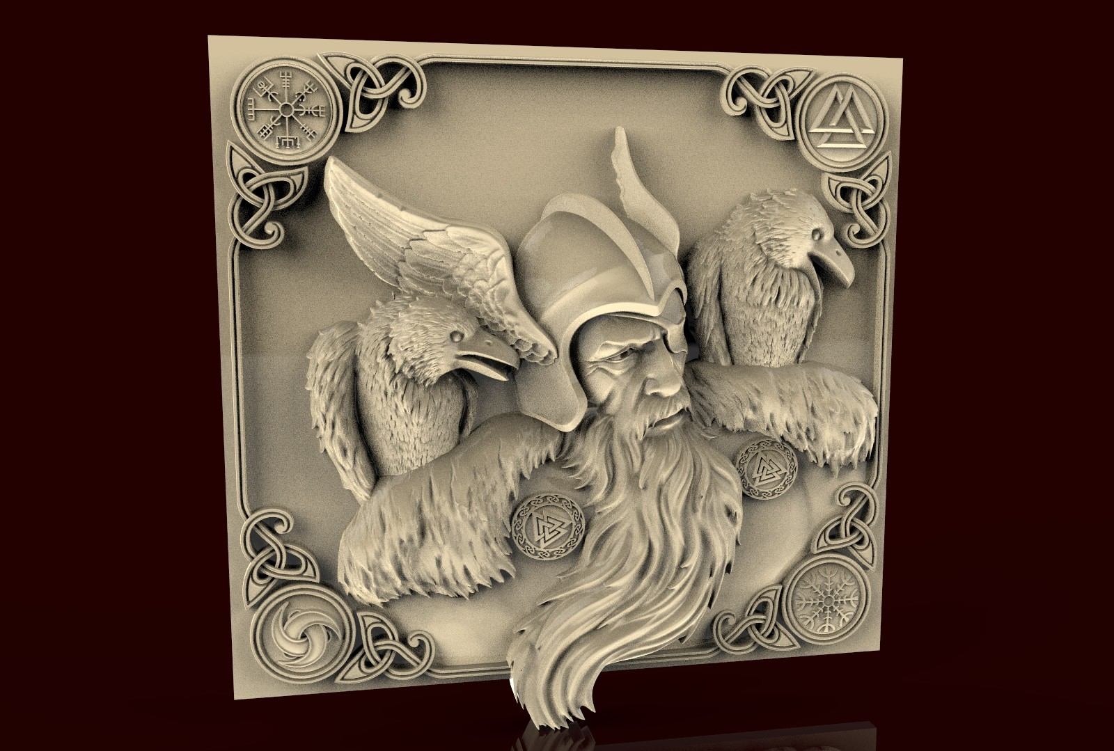 CNC 248 (One and Crows) 3D STL Model